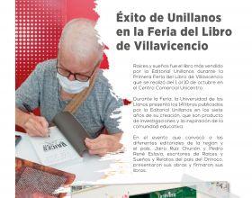 Éxito de Unillanos en la Feria del Libro de Villavicencio