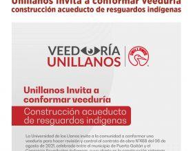 Unillanos Invita a conformar veeduría construcción acueducto de resguardos indígenas